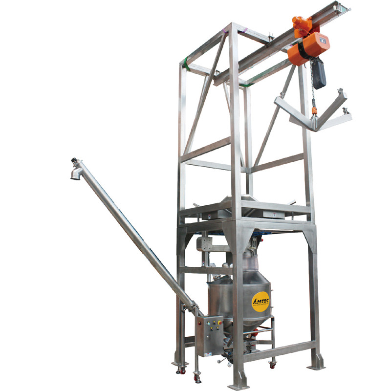 FILLINGmachine Bulk Bag Unloader with Screw Conveyor 10.0 - BB