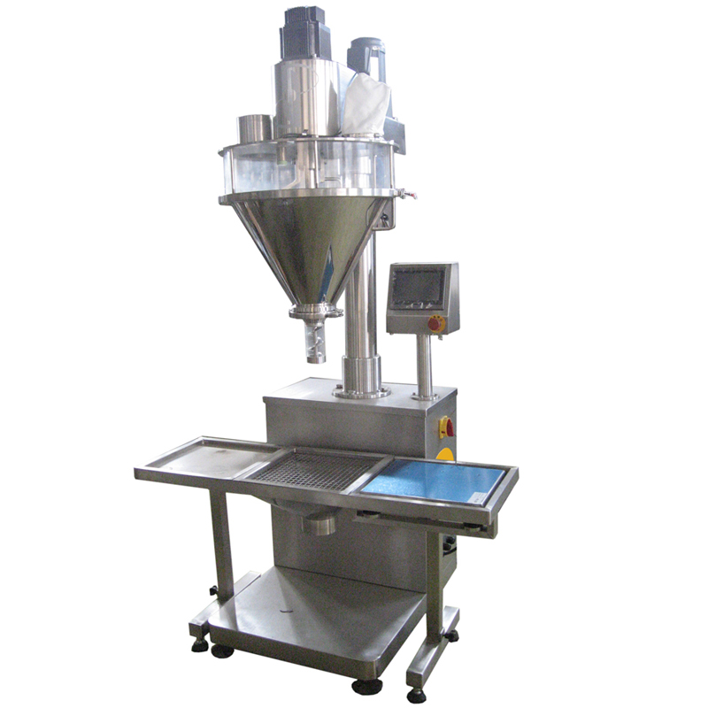 FILLINGmachine Stand-Alone Auger Filler 10-5000g connected weigher