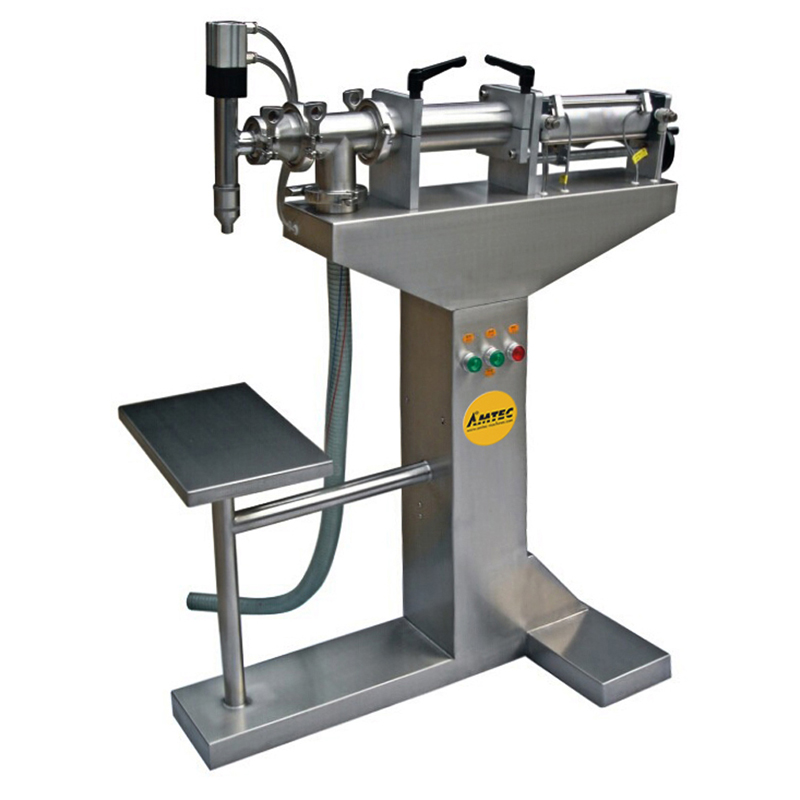 FILLINGmachine Stand-Alone Liquid Filler Upright Version 300-2000ml
