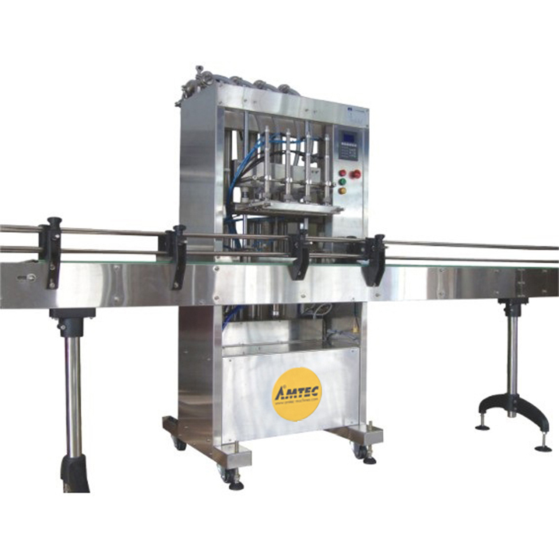 FILLINGmachine Fully Automatic Liquid Filler with 4 Heads