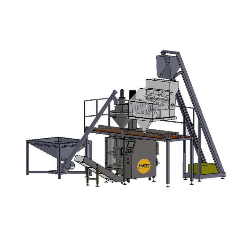 VERTIwrap VIC-Complete-System Auger-Weigher-Combi (Powder AND Granule)