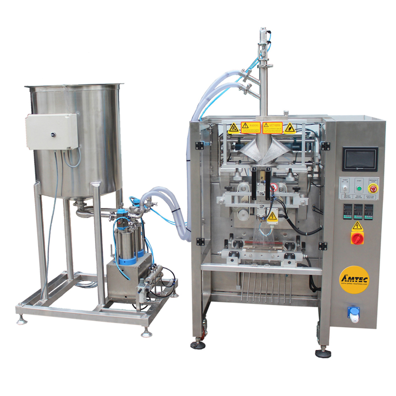 VERTIwrap VIC-Complete-System Liquid Dosing Packaging System incl. Tank with Stirrer