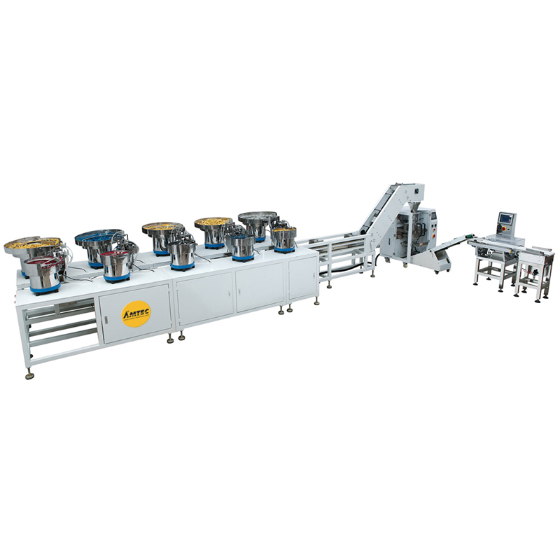 VERTIwrap Multi-Feed-VFFS-System (10 disc) auto counting and packaging system for assortements