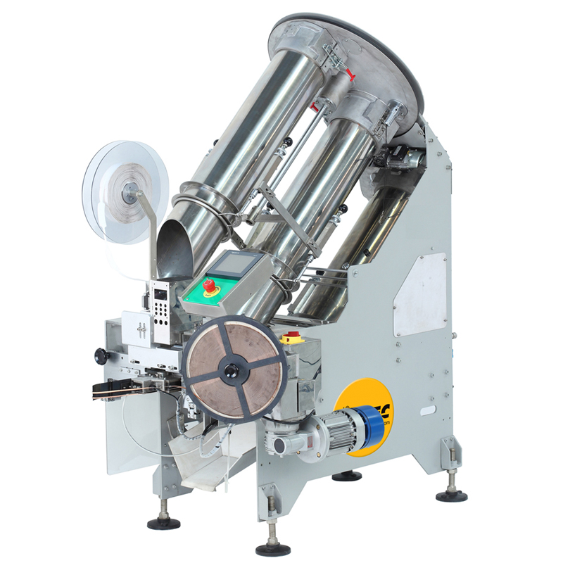 VERTIwrap Net Clipping Machine for fruits, vegetables and industrial products 0.5-5.0kg