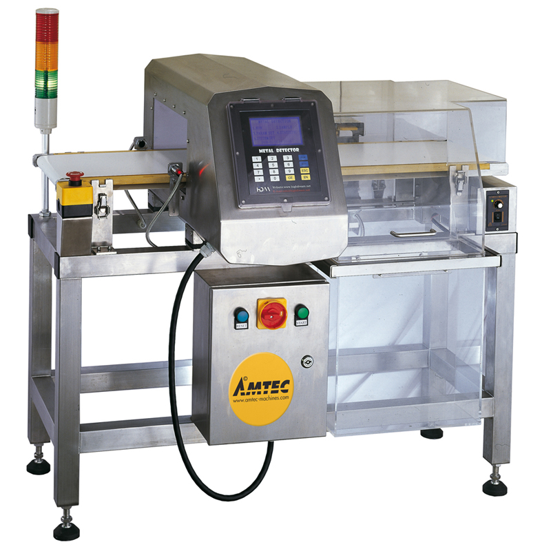 VERTIwrap conveyor belt metal detector