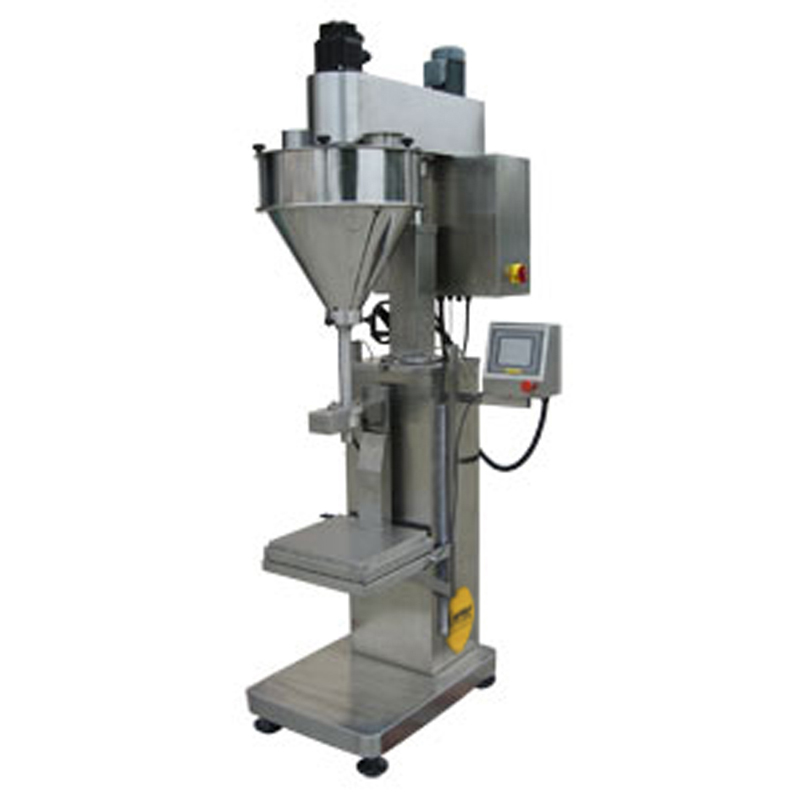 Zoom: FILLINGmachine Stand-Alone Auger Filler 10-10.000g load cell - dual speed
