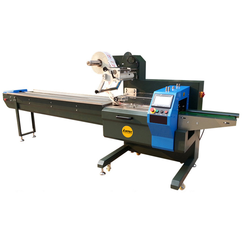 Zoom: FLOWwrap F300-2XL55GN - 2 Rotary Knifes - Servo Version