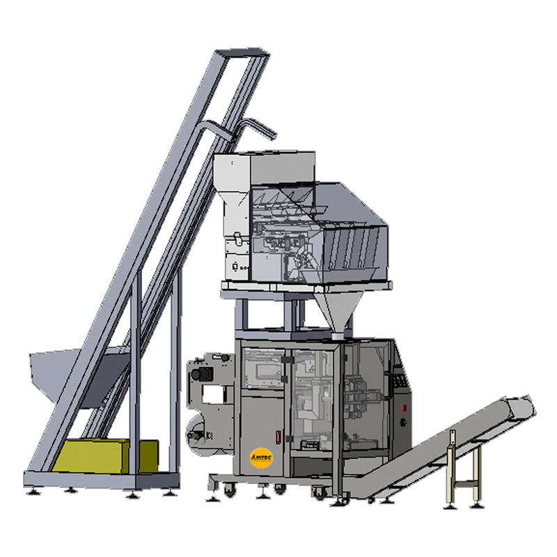 Zoom: VERTIwrap VIC-Complete-System Vibration-Feeder - Multihead - Packaging (Granule)