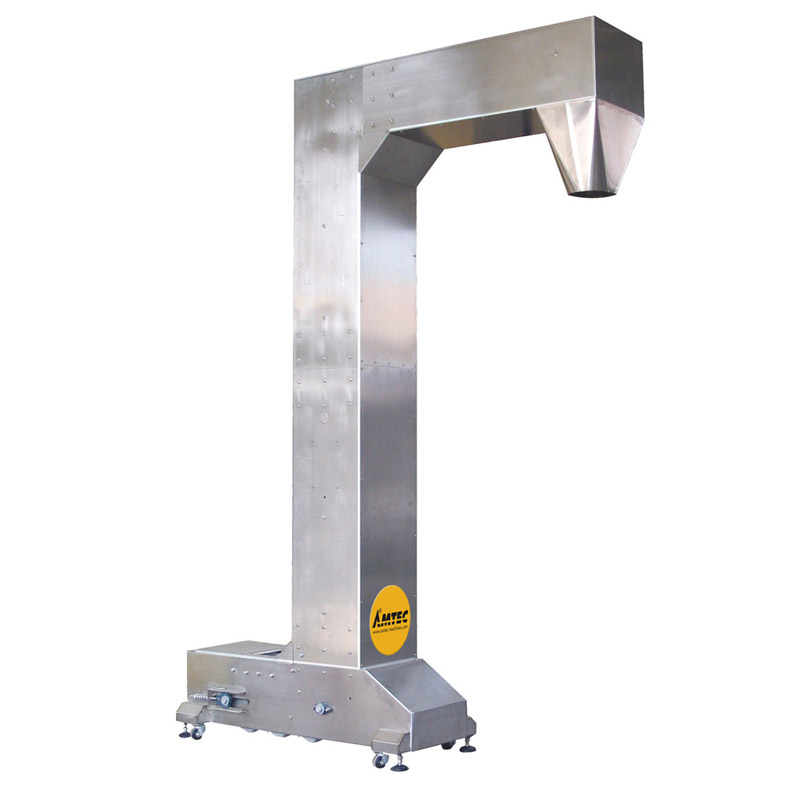 Zoom: VERTIwrap infeed conveyor Z-shaped large