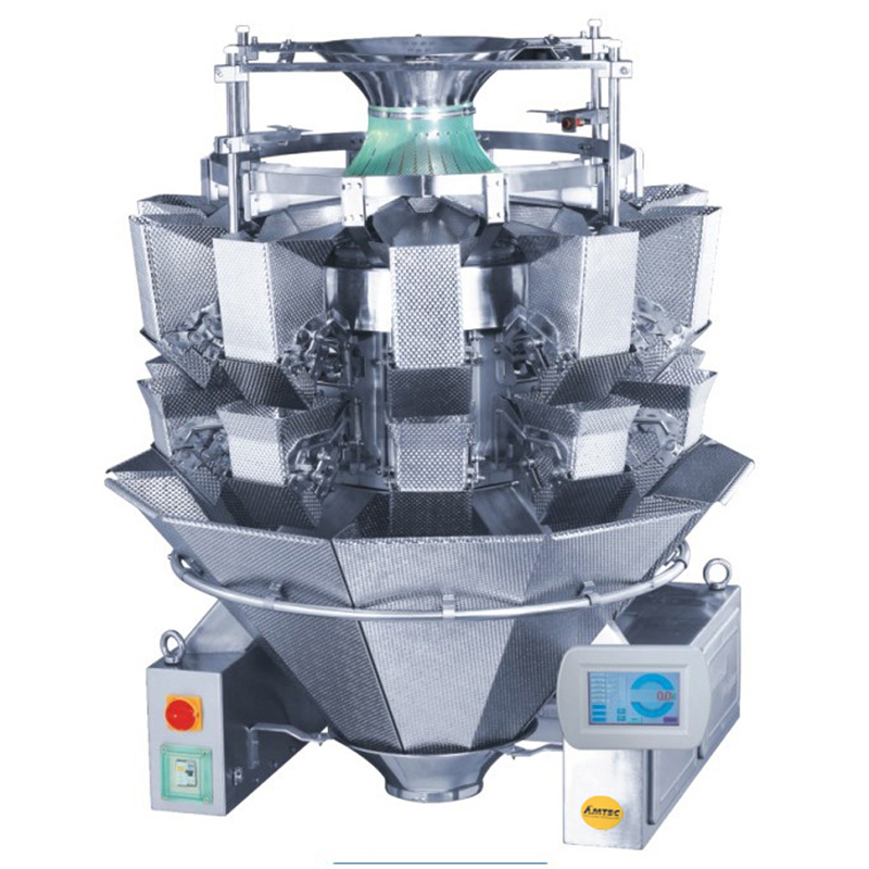 Zoom: VERTIwrap weigher 10-head (2.5 liter) pasta products