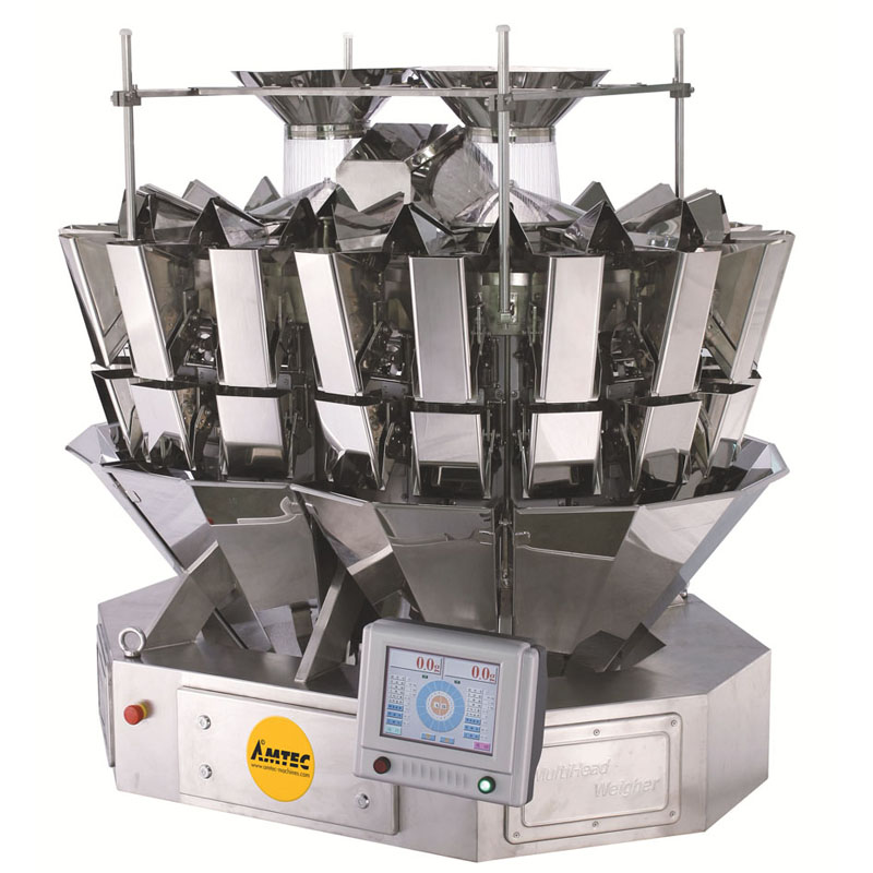 Zoom: VERTIwrap weigher 18-head (1.0 liter) mixing / high speed weigher