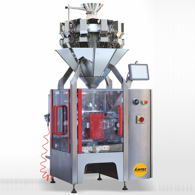 Zoom: VERTIwrap Machine Tetraeder and Pillow Pack TP50 - INCLUDING 0.5L/10head scale