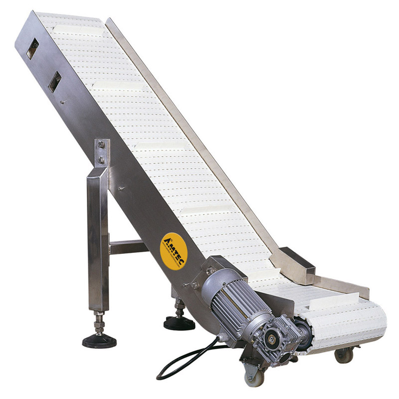 Zoom: VERTIwrap outfeed conveyor A