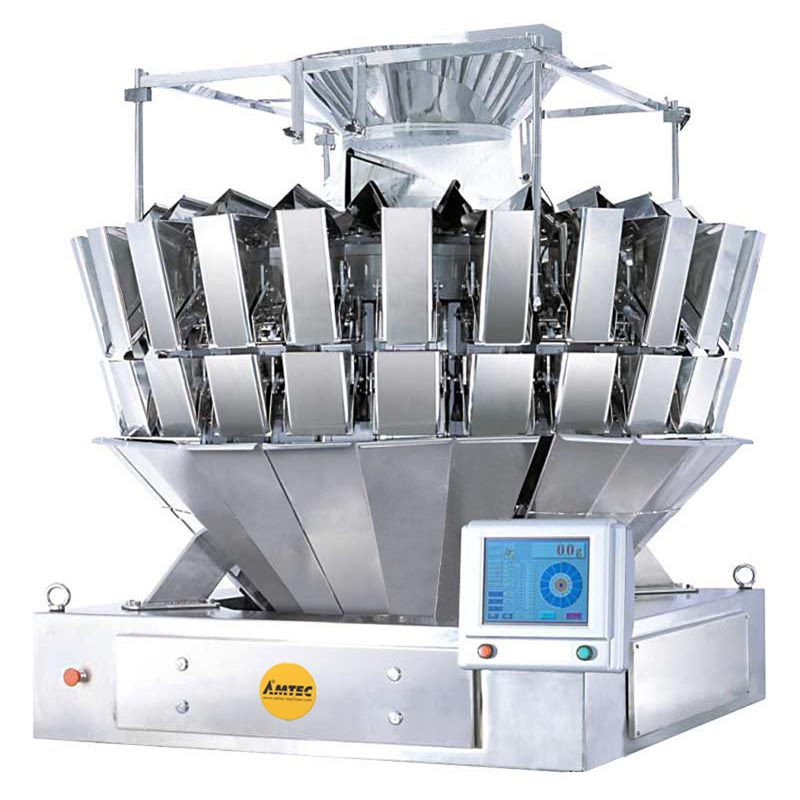 Zoom: VERTIwrap weigher 24-head (0.8 liter) mixing (4 products) / high speed weigher